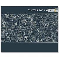 MatrikaS Visitors Book Ruled B
