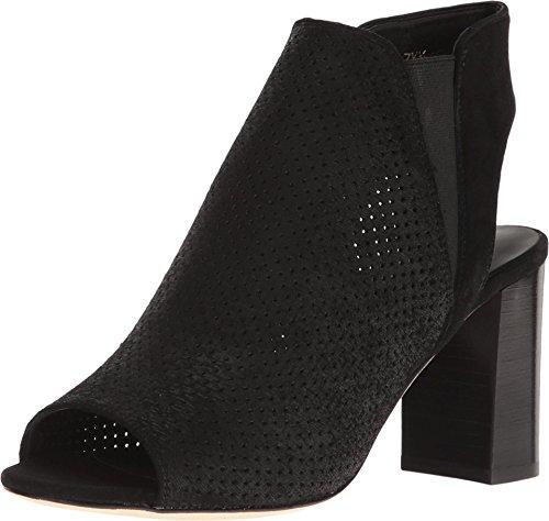 VANELi Women's Bathild Heeled Sandal - Black Perf Charm/B...