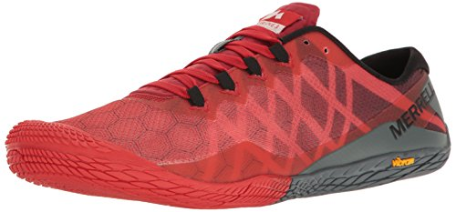 Merrell Men's Vapor Glove 3 Trail Runner, Molten Lava, 9.5 M US