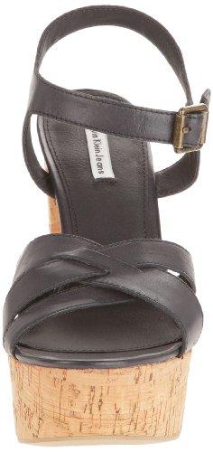 Calvin Klein Jeans JADINE LEATHER - Zuecos de cuero mujer negro - Schwarz (BLK)