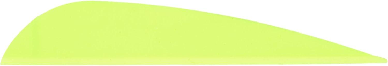 AA /& E 100 FLUOR ORG Pk 2.3 AAE Plastifletch Vanes