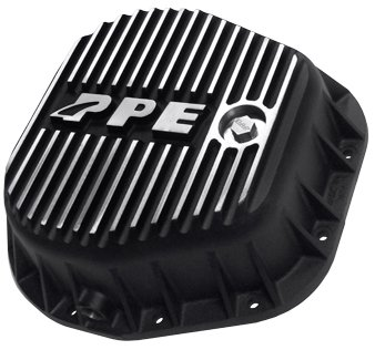 PPE HEAVY DUTY REAR ALUMINUM DIFFERENTIAL COVER BRUSHED FORD F250/F350 10.25 & 10.50 INCH - 338051010