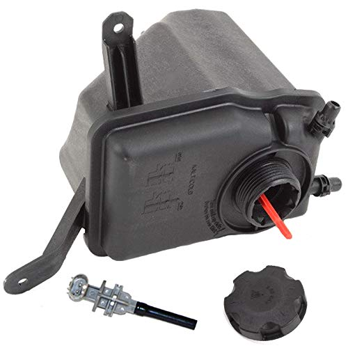 Coolant Reservoir Overflow Expansion Tank + Sensor + Cap FOR BMW E60 E61 E63 E64 ()