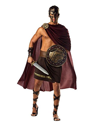 - Men's Greek Spartan Warrior Costume