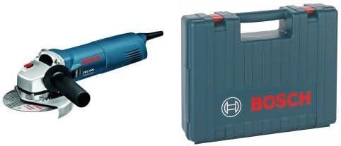 Bosch GWS 1000 - Amoladora angular (1.7 kg) + 2 605 438 170 - Maletín de transporte, 445 x 360 x 123 mm, pack de 1: Amazon.es: Bricolaje y herramientas