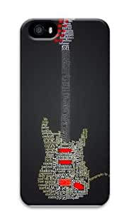 GuitAr Text Custom iPhone 5s/5 Case Cover Polycarbonate 3D