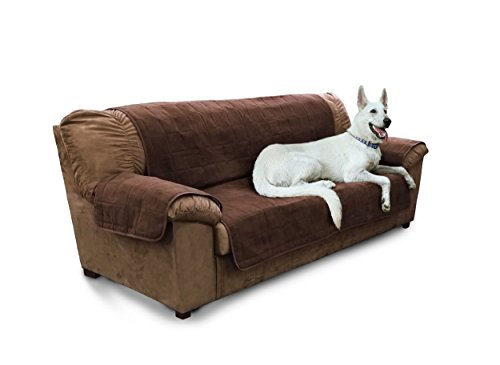 Furhaven Pet Products Home Sofa Protector, Espresso