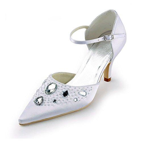 Minitoo , Escarpins pour femme - beige - Ivory-7cm Heel, 38