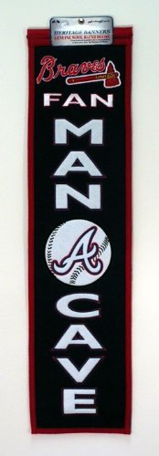 MLB Atlanta Braves Man Cave Banner