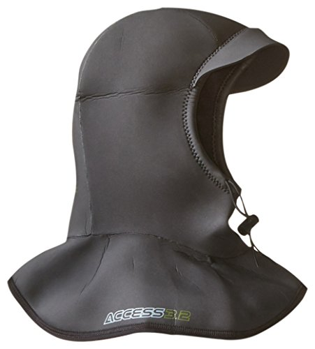 Hyperflex Wetsuits Men's Hood 3/2mm Bibbed - Wetsuit Hats