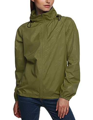 zip up rain coat - 6