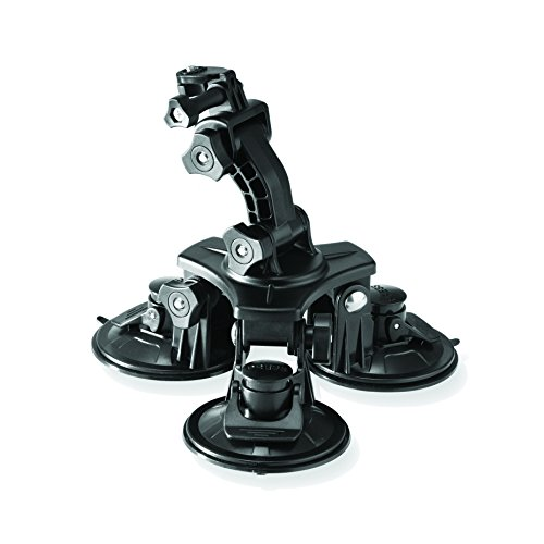 Veho VCC-A027-3SM MUVI Universal Professional Triple Cup Suction Mount (Black)