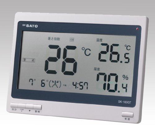 佐藤計量器製作所1-2296-01熱中症暑さ指数計(屋内専用)SK-160GT B07BD2X8D6