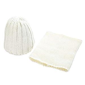 SKays Baby Beanie Winter Hat Knitted Hat Unisex Two Pieces Children's Knitted Hat Warm Keep Neckerchief Winter Hat
