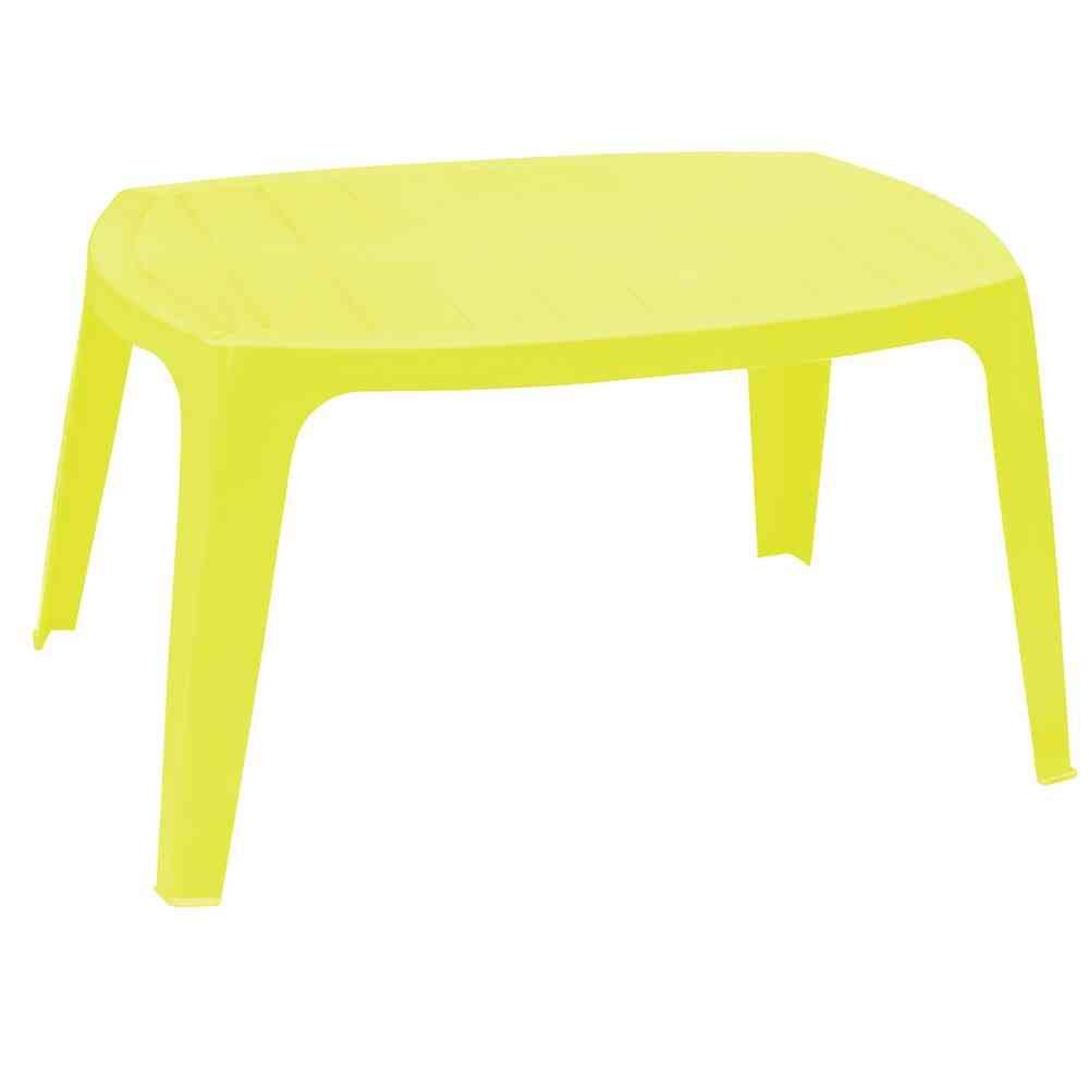 IPAE-PROGARDEN Tavolino da Giardino Colore Antracite Modello Kai