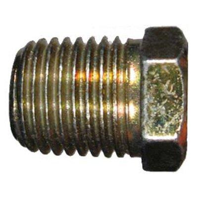 "Eaton Aeroquip 2082-8S Steel Pipe Fitting, Hex Head Plug, 1/2"" NPT Male"