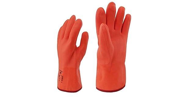 AINIYF Baja temperatura/Nitrógeno líquido/Guantes de frío/caliente para laboratorio / 11.6 pulgadas: Amazon.es: Bricolaje y herramientas