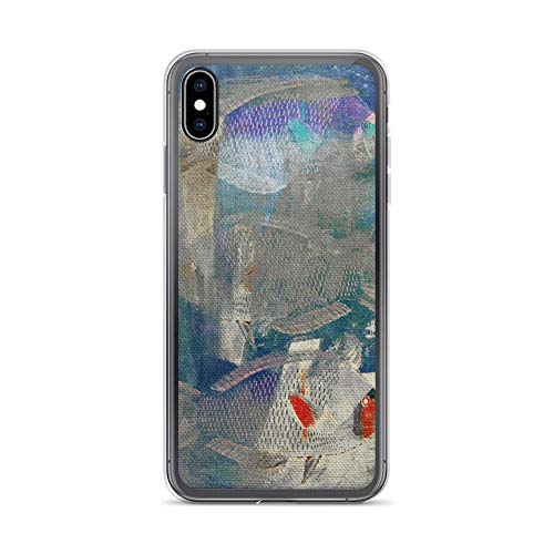 iPhone Xs Max Case Anti-Scratch Creature Animal Transparent Cases Cover Stealthy Animals Fauna Crystal Clear
