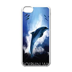 iPhone 5C Phone Case White Dolphin WQ5RT7459927