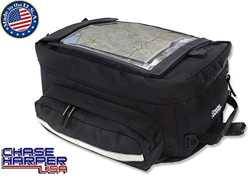 Chase Harper 1560M Black Magnetic Sport Tour Tank Bag - 35.3 Liters