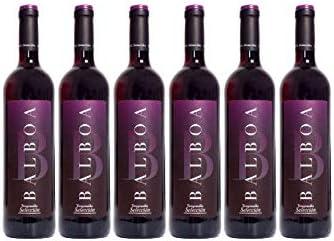 Pack 6 botellas BODEGAS TIARA Vino Tinto Balboa Selección Tinto Tempranillo