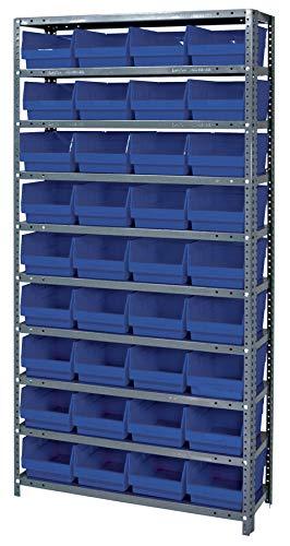 Quantum Storage Systems 1275-207BL Store More Shelf and Bin Unit, 12