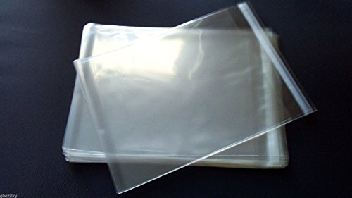 1000pcs 5 X 7 A7 Cellophane Poly Envelopes Plastic Crystal Clear Cello Bags by ghezziky