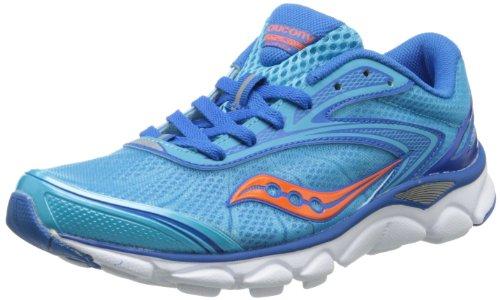 Saucony Women's Virrata 2 Running Shoe,Blue/Orange,7.5 M US