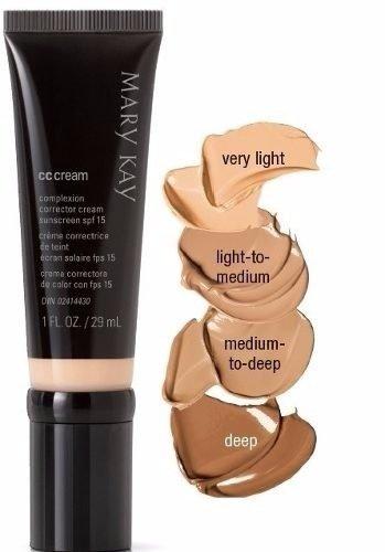 CC Cream SPF 15 Protezione Media Mary Kay pallido / Natural by Body Market
