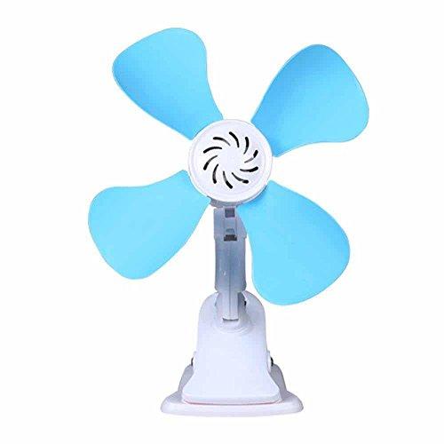 Kaxima Four leaf clip fan mini student dormitory Wall fan desktop desk Clip fan household energy Saving small electric fan by Kaxima
