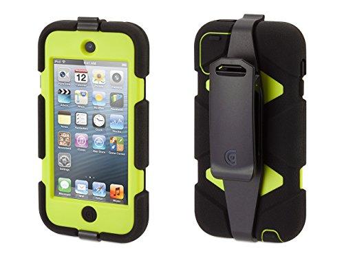 Griffin Black/Citron Survivor Case + Belt Clip for iPod touch (5th/ 6th gen.) - Extreme-duty case