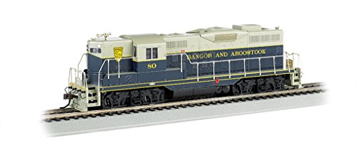 Bachmann EMD GP9 Bangor and Aroostock #80 DCC Equipped Locomotive with Dynamic Brakes (HO (Brake Mate)