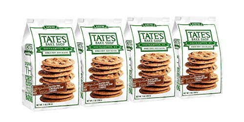 - Tate's Bake Shop Gluten Free Chocolate Chip Cookies, 7 Ounce, 4 Count