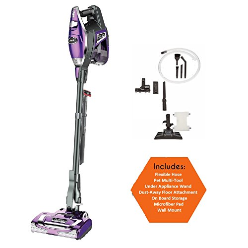 Shark Rocket Ultra-Light Powerful Upright Vacuum, Bonus Under Appliance Wand, Dust-Away Floor Attachment and Microfiber Pad, Pet Multi Tool, with LED Head Lights, (Shark Angels compare prices)