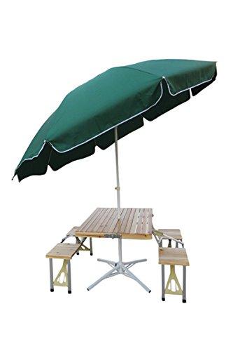 Wonderful U0026quot;Amazeu0026quot; (Table+9u0027 Umbrella+Umbrella Stand) Folding Aluminium
