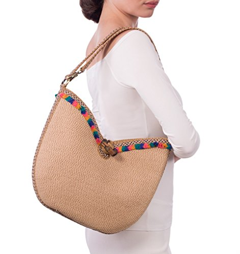 Eric Peanut Javits Frida Fashion Mix Designer Handbag Luxury Women's arZqa