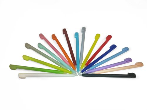 Ultimate 17 Pack Stylus Pen Set for Nintendo DS Lite (Bonus Pack W/ 4 Glow-In-The Dark Pens Included, Lifetime Warranty)