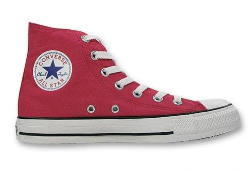 Converse Chuck Taylor All Star - Zapatillas de tela, unisex Rosa/Blanco (Raspberry/White)
