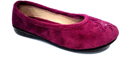 De Fonseca , Chaussons pour femme violet Lie-de-vin 36