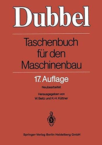 Dubbel  - Taschenbuch für den Maschinenbau 17.Auflage