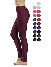 Women's Jean Look Jeggings Tights Yoga Many Colors...