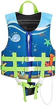 MoKo Swimming Vest for Kids, Children Swim Vests Water Activity Equipment Cute Pattern Watersports Swimming De