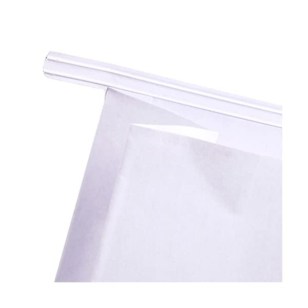 50 Pack Vomit Bags Pregnancy Problems Self Sealing Throw Up Bags For Motion Sickness Morning Sickness White 6 X 9 X 27 Inches