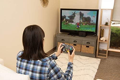 PowerA - Mando inalámbrico, Estilo GameCube Plateado (Nintendo ...
