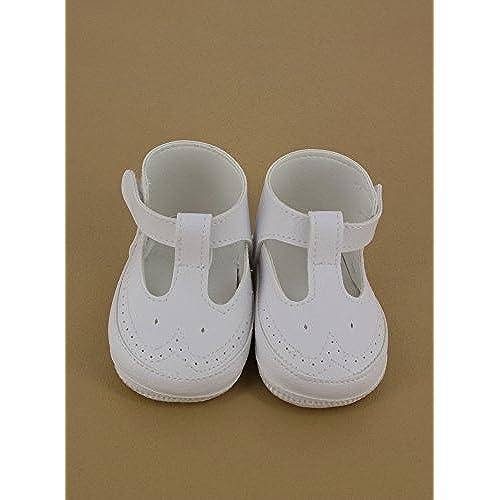 35f755e00860d modélisation durable Boutique-Magique Chaussures de Baptême Bébé Fille Blanc