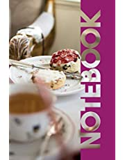 Notebook: Cornish Cream Tea Nifty Composition Notebook for Fans of Scones Strawberry Jam and Clotted Cream