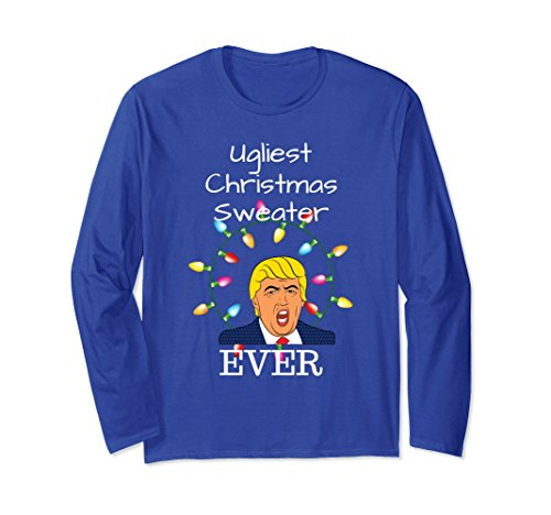 Unisex Ugliest Christmas Sweater Ever for Anti Trump for sale  Delivered anywhere in USA