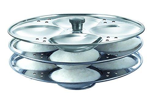 Idli Plates Tabakh Stainless Steel 4 Rack Idli Stand