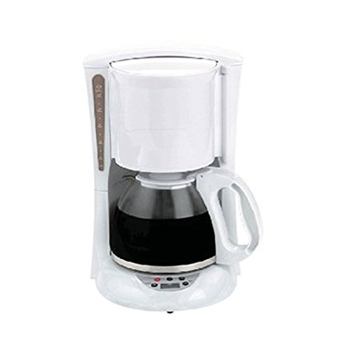 Brentwood 12-Cup Digital Coffee Maker White TS-218W