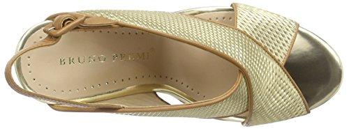 Bruno Premi F4304x - Sandalias Mujer Dorado - Gold (Platino/Cuoio)